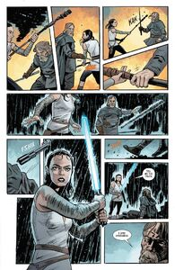 The Last Jedi Adaptation 4 - Rey fights Luke