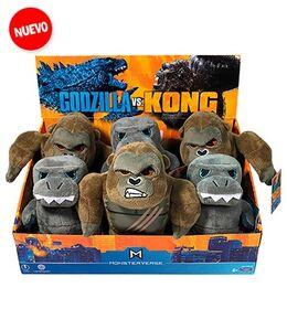 Godzilla vs. Kong plush toys