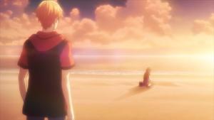 Kyo look at Tohru