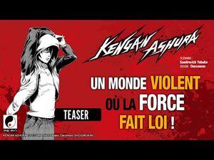 Le manga KENGAN ASHURA, un shônen de baston violent!