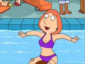 Lois griffin (purple bikini)