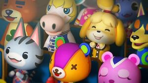 Animal crossing new horizons isabelle cameo
