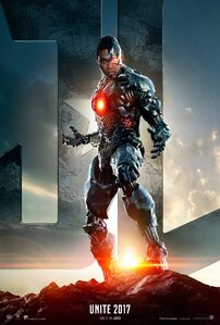 Justice League Cyborg character poster