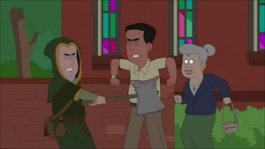 Merkin Attacks Man