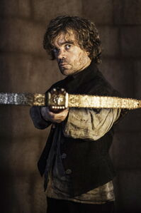Tyrion about to kill Tywin