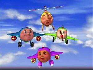 Jay Jay the Jet Plane Jay Jay Tracy Herky and Snuffy