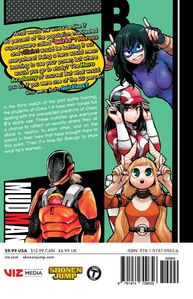 My Hero Academia Manga Volume 22 Back Cover