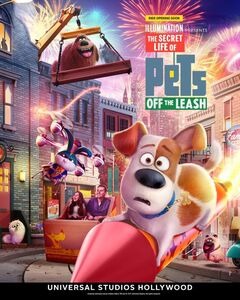 The Secret Life of Pets Off the Leash poster