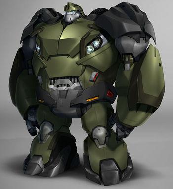 Bulkhead (Transformers: Animated)