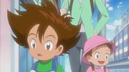 Taichi and Hikari (Flashback)