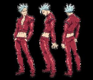 Ban anime character designs