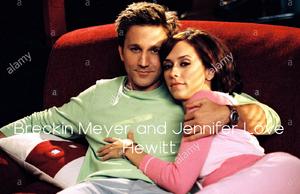 Breckin Meyer and Jennifer Love Hewitt