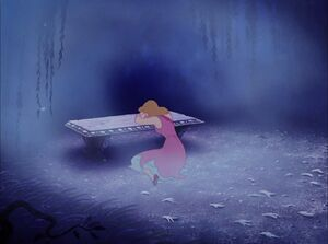 Cinderella crying