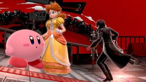 Joker princess daisy and kirby by user15432 ddfuaen
