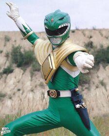 Mighty Morphin Green Ranger Pose