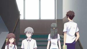 Tohru, Yuki, Machi and Kekeru
