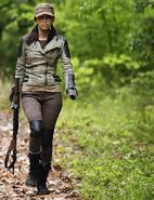 Christian Serratos as Rosita Espinosa in The Walking Dead 234