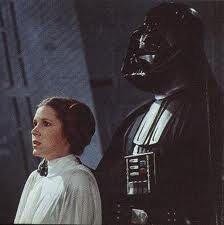Leia and Darth Vader
