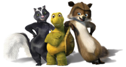 RJ, Verne and Stella