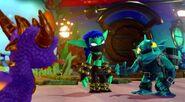 Spyro, Gill Grunt and Stealth Elf (Imaginators)