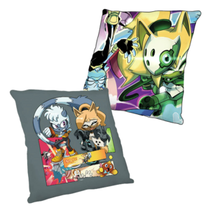 Tangle and Whisper pillow