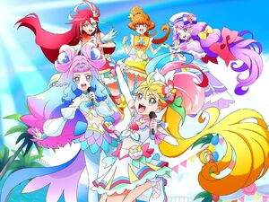 Tropical-Rouge! Pretty Cure LIVE 2021 visual