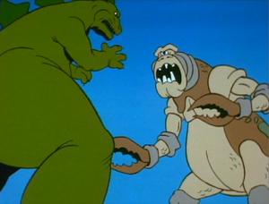 Godzilla vs. The Cyclops Monster 1