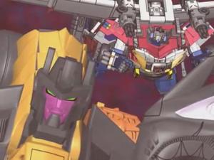 Optimus & Scourge