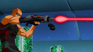 Arsenal's cybernetic arm