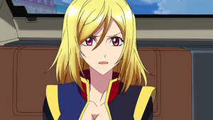 Cross Ange Ep 21 Ange Shocked Close-up Extended Version