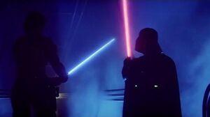 Luke & Vader's Duel On Cloud City 1080p