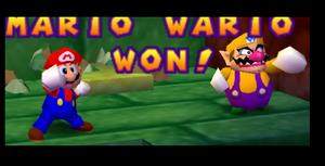 Mario party 2 mario and wario