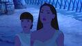 Nakoma brings Pocahontas to Smith's prison tent