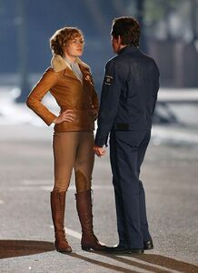 Amy Adams as Amelia Earhart In Night at the Museum 3