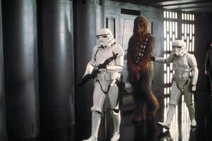Chewbacca prisoner
