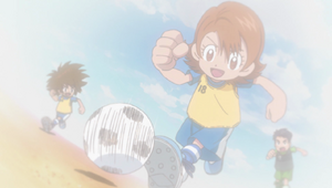 Ep 40 - Young Taichi and Sora
