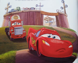 Mack Approaches McQueen