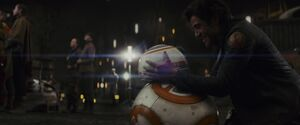 Poe and BB-8 - TLJ