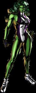 She-Hulk UMvC3 artwork