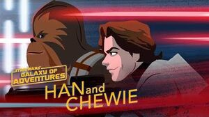 Han and Chewie - A Lifelong Partnership Star Wars Galaxy of Adventures