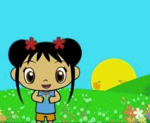 Kai lan and mr sun