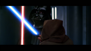 Vader overpowers