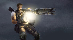 Bionic Commando Concept Art - Nathan Rad Spencer 06