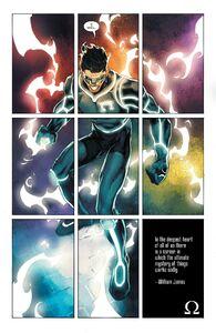 Kyle Rayner -Omega-Lantern