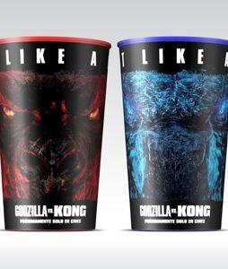 Godzilla vs. Kong Carl's Jr. Spain Cups