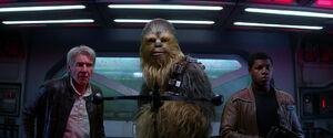 Han, Chewie and Finn -TFA