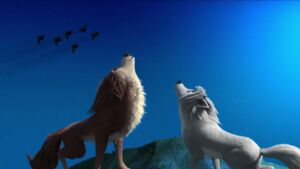 L and G howling together