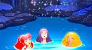 Rikki, Cleo & Emma in Opening