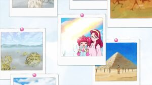 STPC18 Picture of Hikaru with her mother and blurred out father