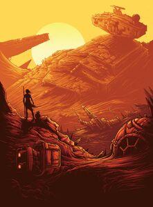 Star wars the force awakens IMAX Key Art